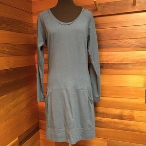 2/$20 Sandwich Long Tunic Sweatshirt Dress